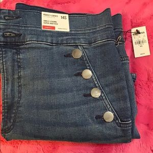 New express jeans size 14s straight cut.